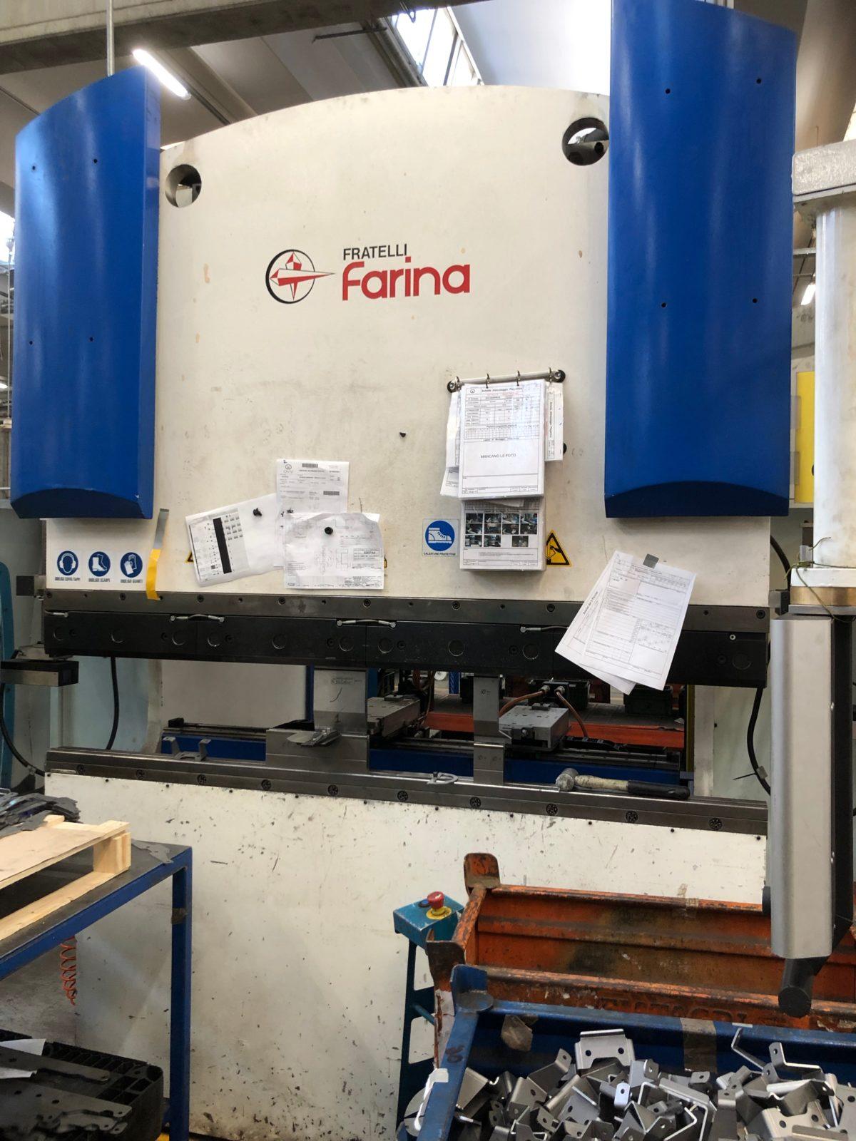 Pressa Piegatrice Farina 110 Ton x 2000 anno 2013