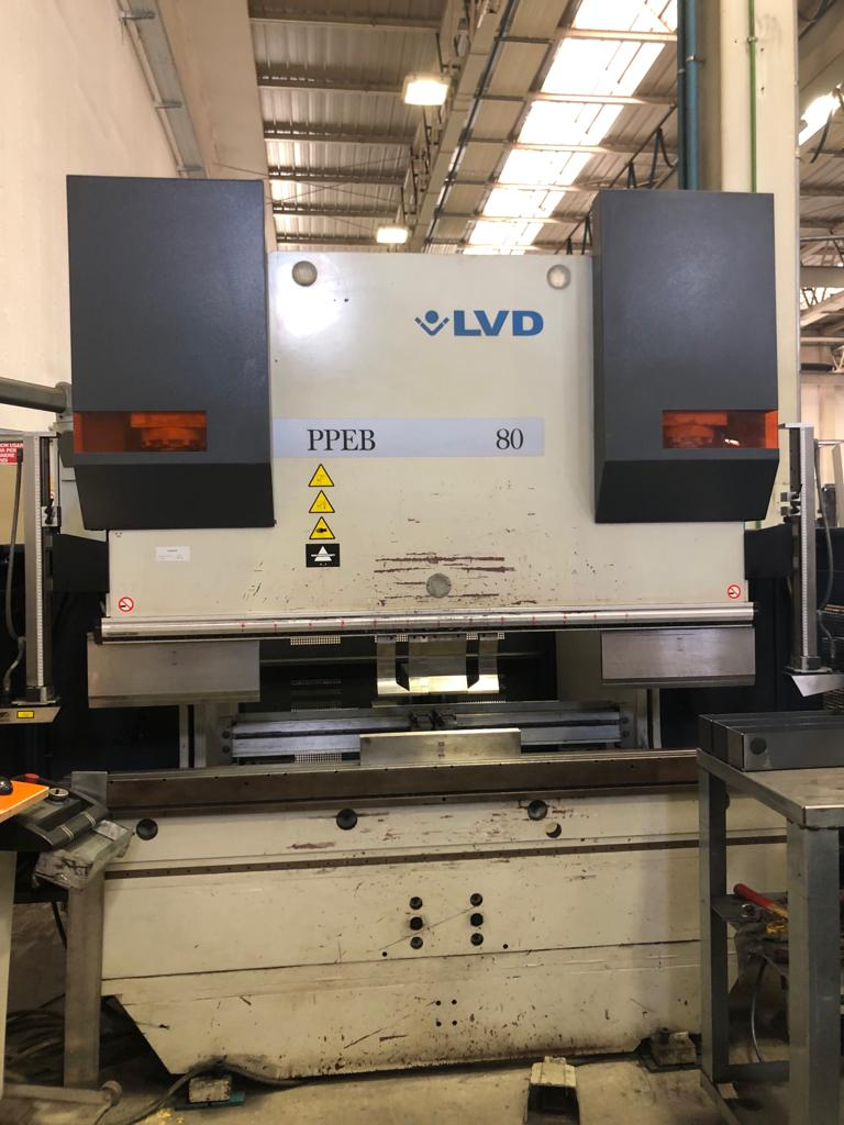 Pressa piegatrice LVD PPEB-EQ 80/20